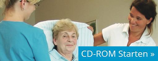 """""""CD-Rom"""" (2011) Rückengerechtes Arbeiten <br/>in Pflege und Betreuung"""