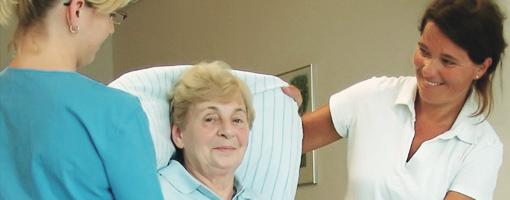 Rückengerechtes Arbeiten <br/>in Pflege und Betreuung